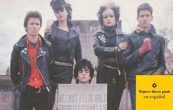 mejores discos punk en español