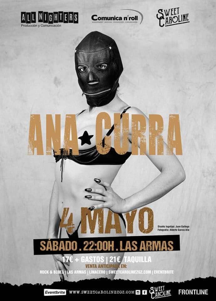 ana curra concierto zaragoza 2019