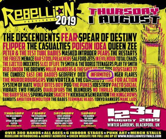 Rebellion Festival 2019 2