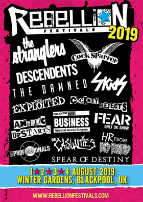 Rebellion Festival 2019 cartel