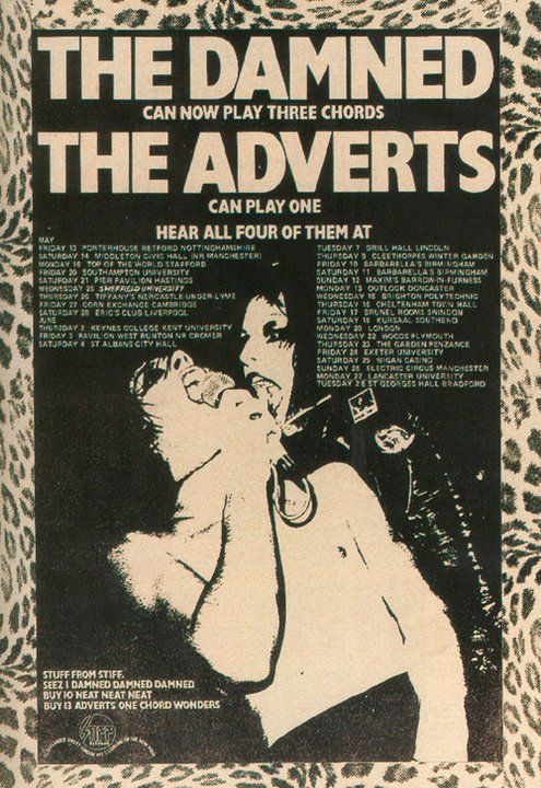 the adverts gira the damned