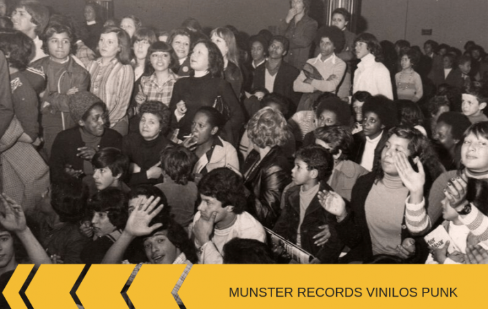 Munster Records vinilos punk