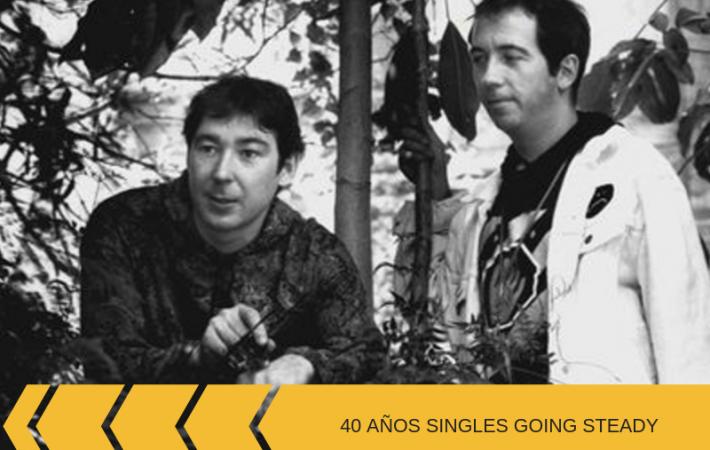 40 años de Singles Going Steady de Buzzcocks aniversario