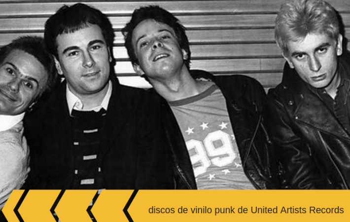 discos de vinilo punk de United Artists Records