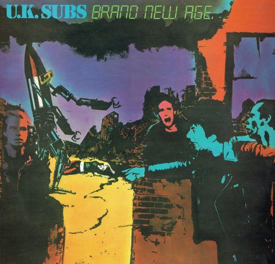 UK SUBS – BRAND NEW AGE segundos discos punk britanico