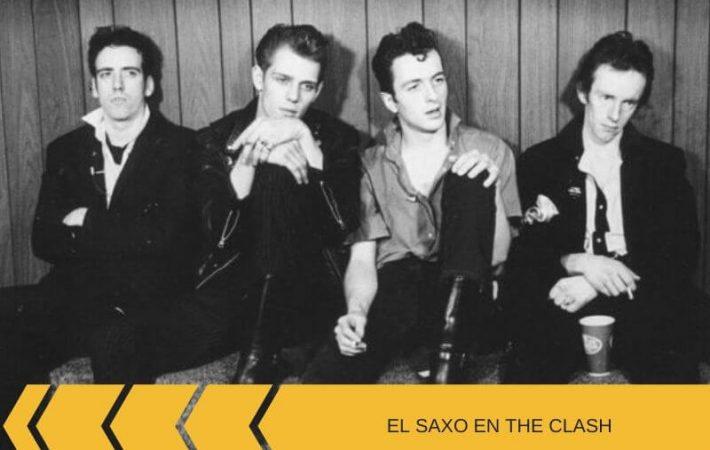 El saxofonista de The Clash Gary Barnacle