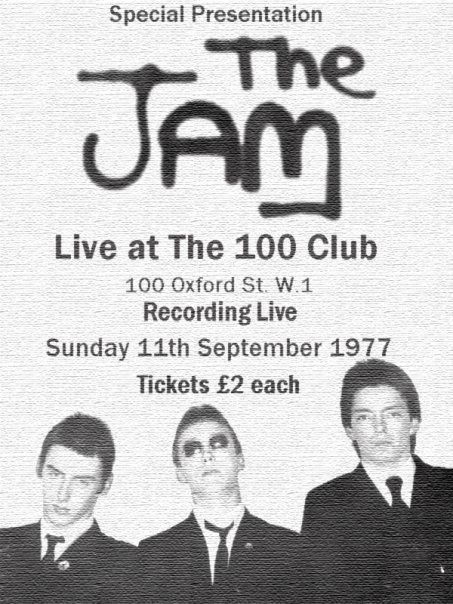 the jam 100 club london