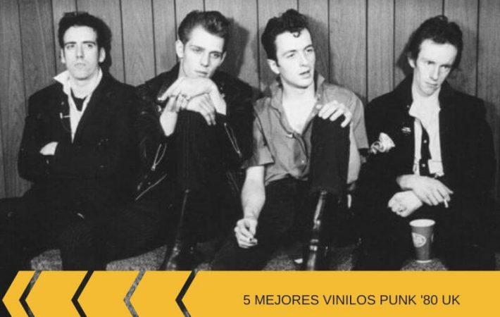 Mejores vinilos punk de '80 : selección con bandas británicas de los 80