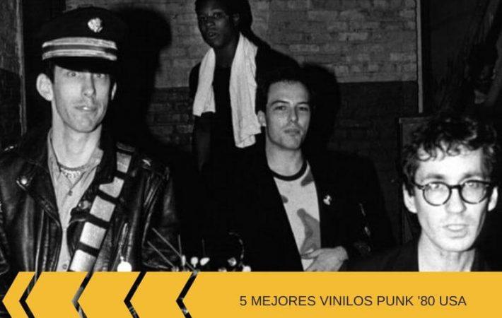 Mejores vinilos punk de los 80 _ primera selección con bandas USA 80