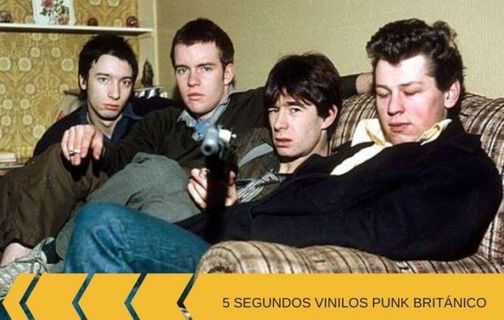 segundos vinilos punk británicos