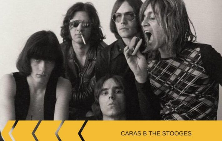 Las caras B The Stooges en sus singles Iggy Pop