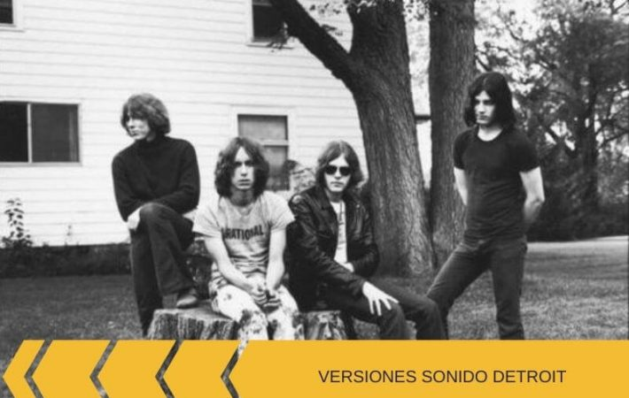 Proto Punk Detroit versiones bandas The Stooges MC5