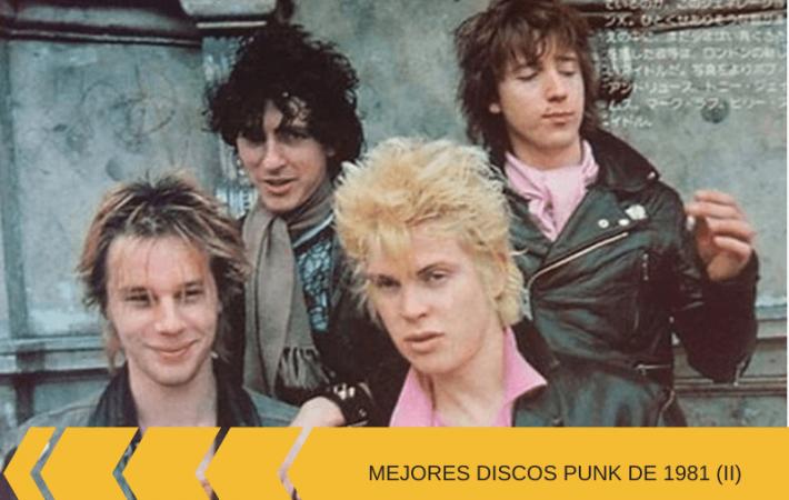 discos de punk 1981