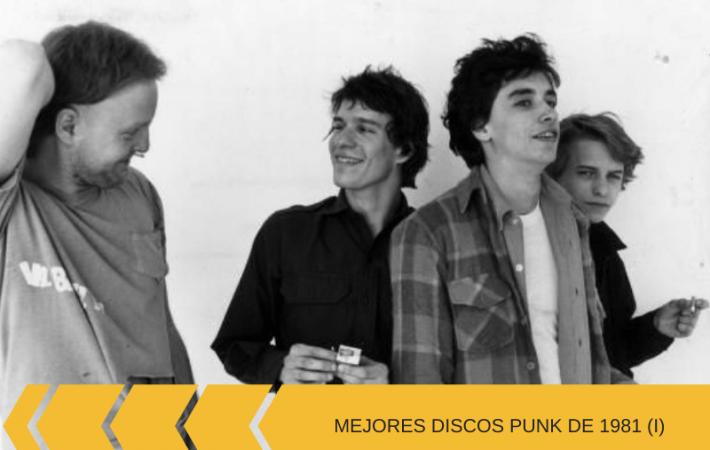 discos de 1981 punk