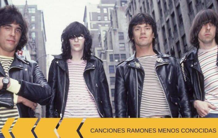 mejores canciones de Ramones menos conocidas parte uno