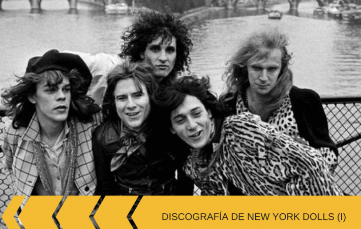Discografía de New York Dolls discos
