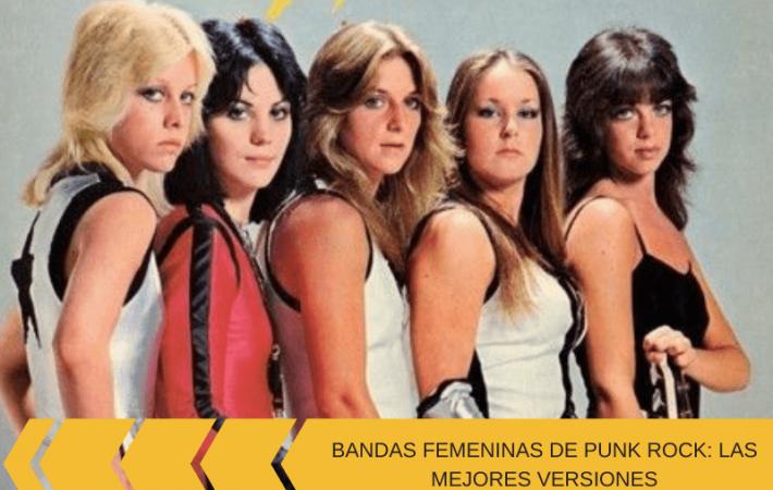 bandas femeninas de punk rock
