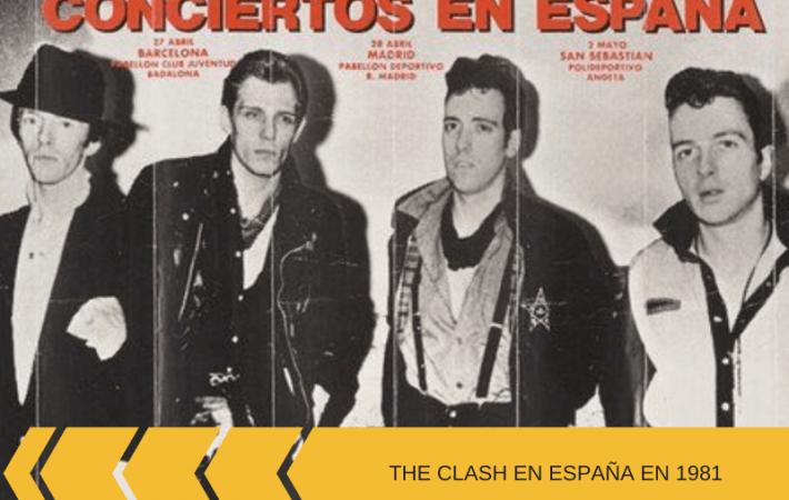 The Clash 1981 Tour en España