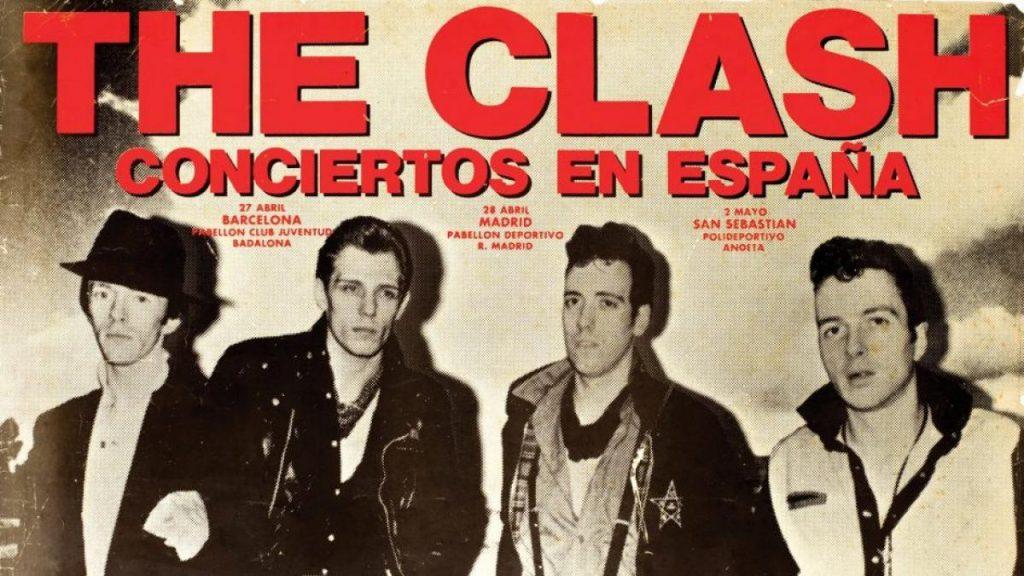 the clash 1981 en espana