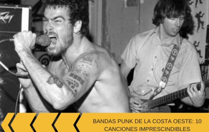 Bandas punk de la costa oeste americana