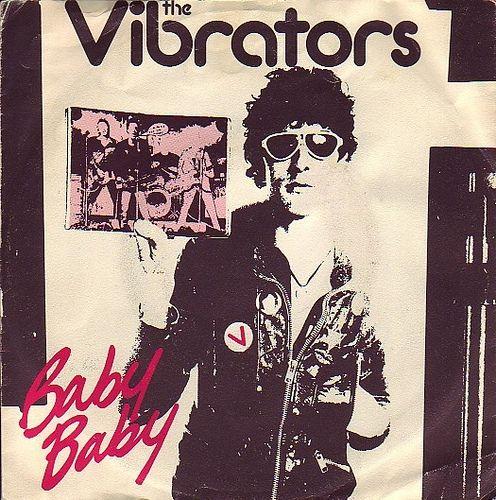 Punk the vibrators baby baby baby single punk
