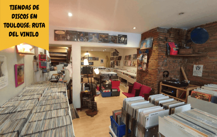 Tiendas de discos en Toulouse ruta del vinilo