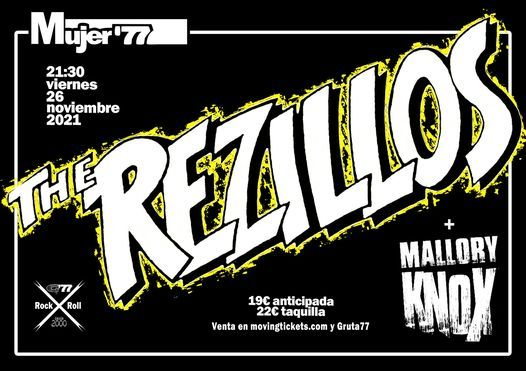 concierto the rezillos madrid 2021 punk new wave